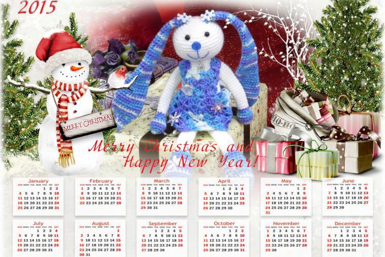скидки, календарь, котик, кот полосатый, зайка, снежинка, елочные шары, новый год, вязаные игрушки, скидки на игрушки