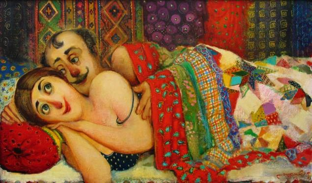 Секс в картинах художниов