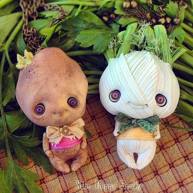 Как сделать из овощей куклу
