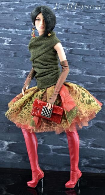 одежда для кукол, ручная работа