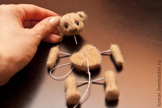 Мишки миниатюрные сшить своими руками 40
