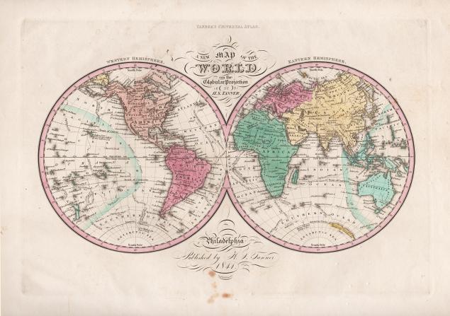 география, старинная