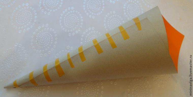Новогодняя елочка из бумажных салфеток своими руками, фото № 3