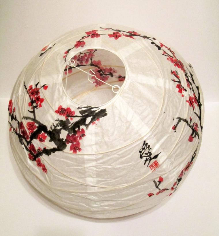 китайская живопись, мэй хуа, роспись светильника, елена касьяненко, для начинающих