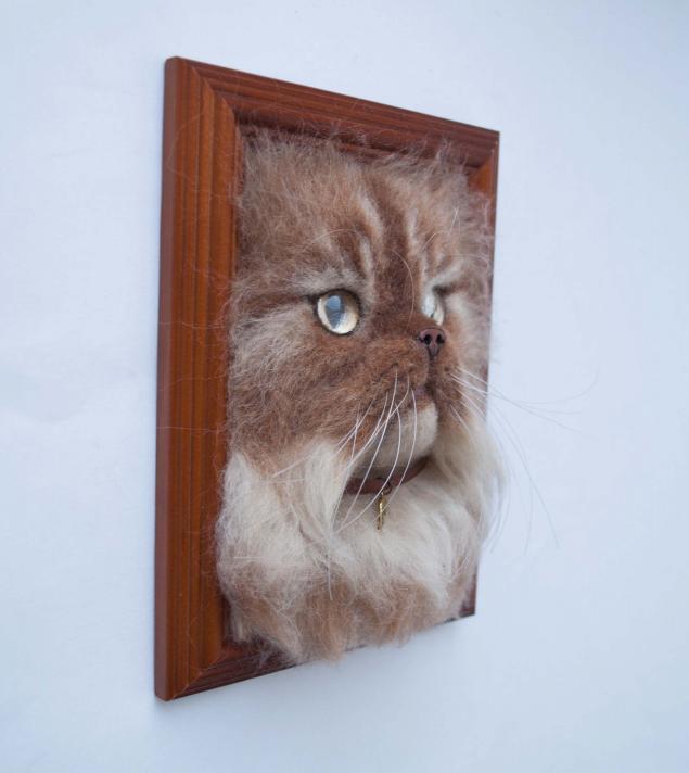 рыжий кот, картина в подарок