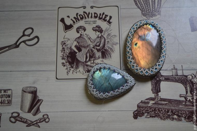 Картинки по запросу оплетение камней бисером