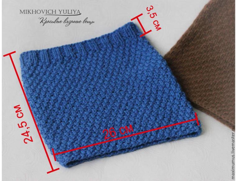 Схемы вязания шарфов спицами на Verenaru