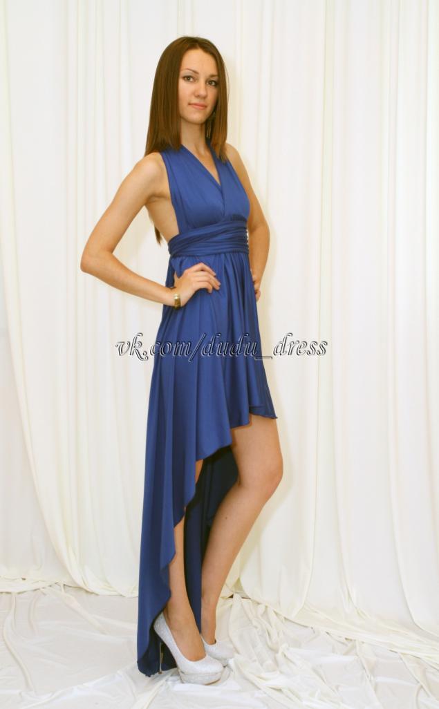 платье-трансформер, трансформер, платье со шлейфом