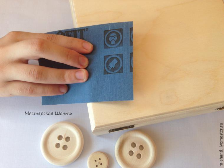 Расписываем яркую шкатулку-развивайку для детей, фото № 3