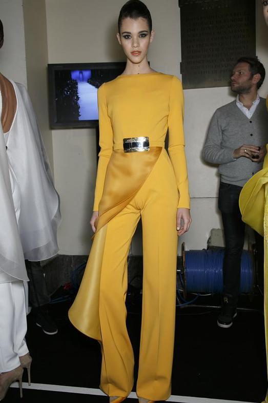 Stephane Rolland Haute Couture весна-лето 2014, фото № 51