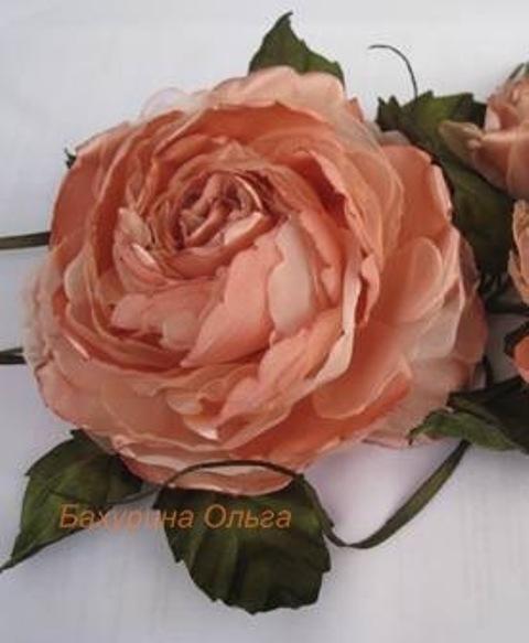 цветы, цветы из ткани, цветы ручной работы, цветы из шелка, цветоделие, обучение, обучение цветоделию, мастер-класс, бульки, брошь-цветок, брошь, брошь цветок