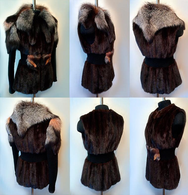 шуба из норки, выгодная покупка, модная меховая одежда
