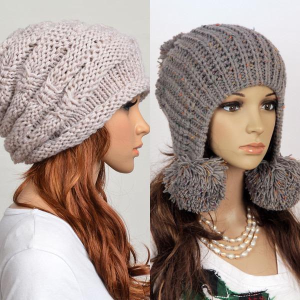 Модные шапки осень зима 2017 вязать71