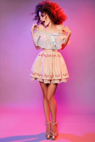 Фото платьев baby doll