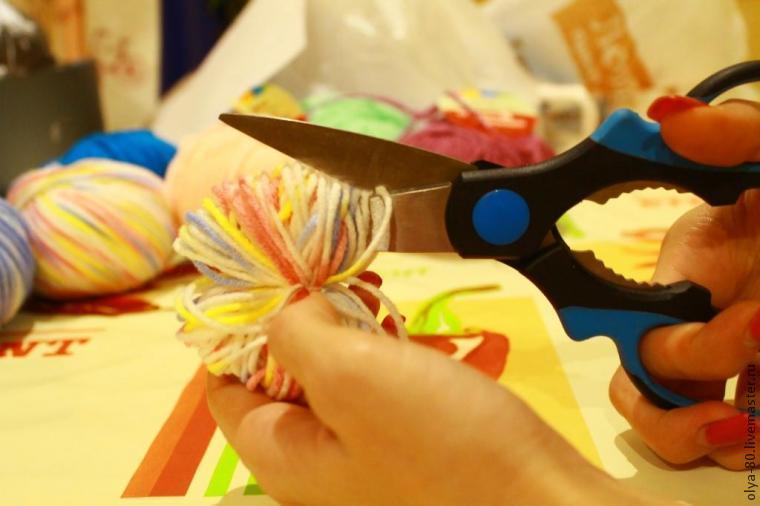 Процесс создания веселого коврика, фото № 10