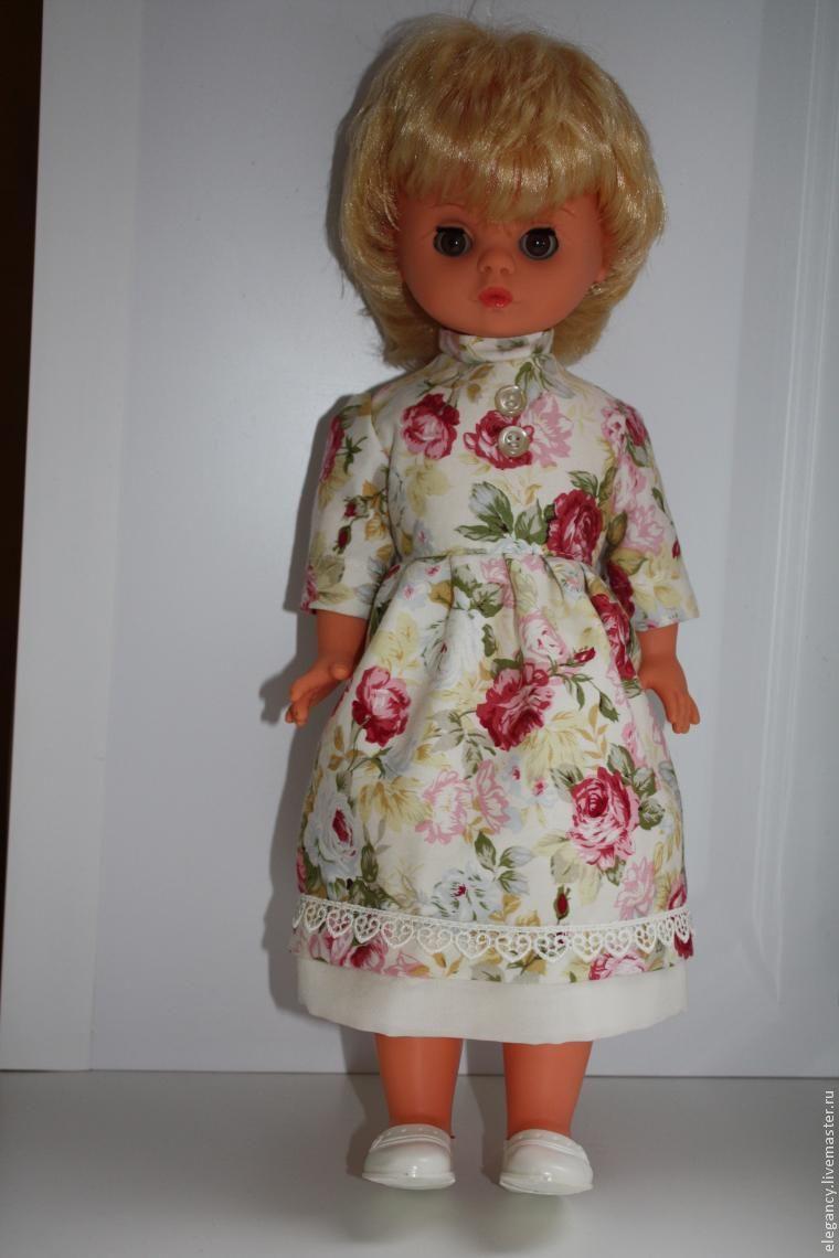 Как делать платье для куклы своими руками фото 843