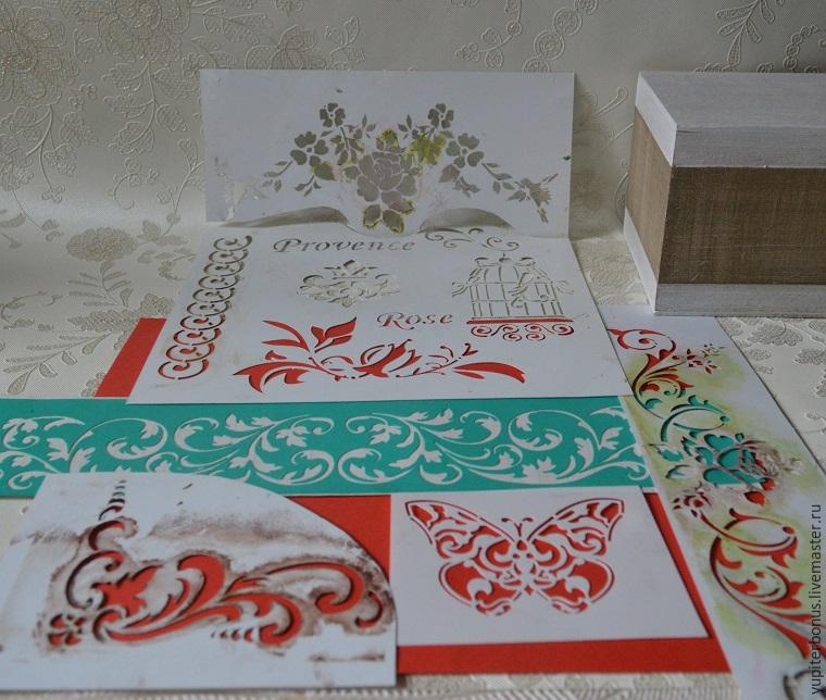 Трафареты росписи по ткани