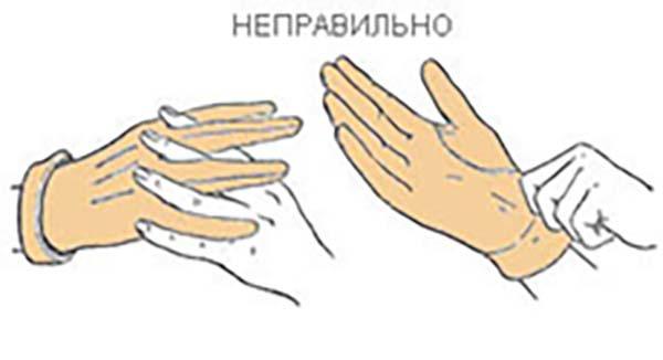 как правильно одевать пупырчатые перчатки использовать термобелье без
