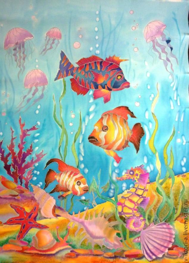 Картинки нарисовать подводный мир