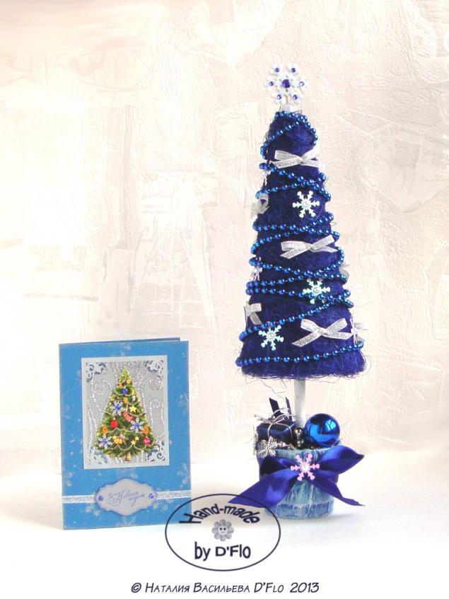 топиарий из сизали, hand-made cards