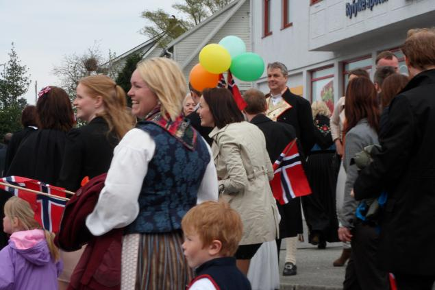 цвета норвежского флага