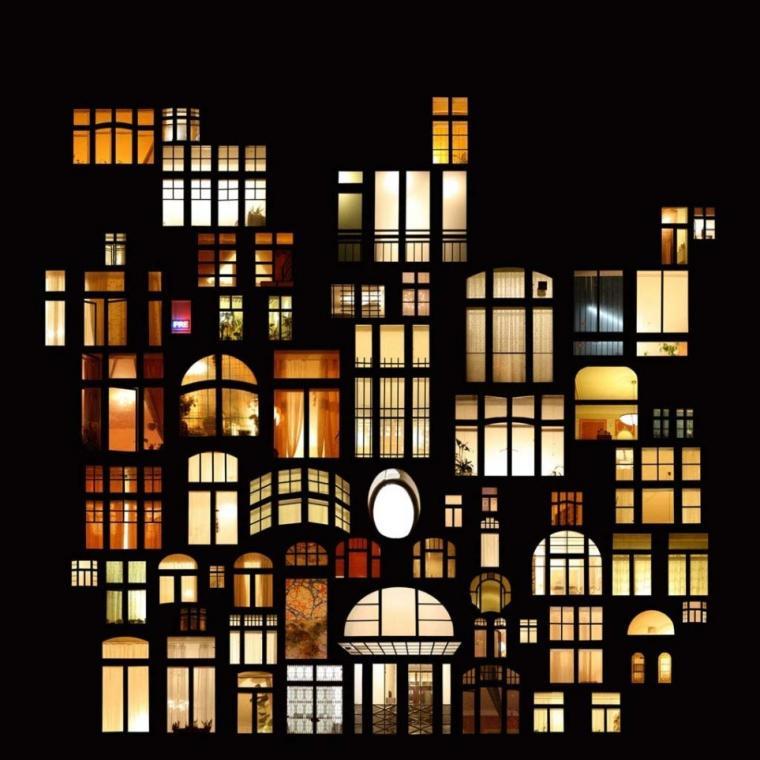 окно, свет