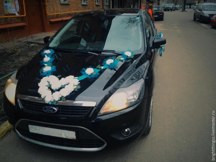 Мастер класс украшения свадебной машины своими руками