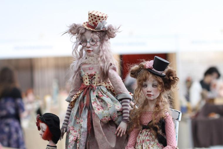 Международной выставка авторских кукол и мишек «Панна DOLL'я» в Минске. Часть 1., фото № 32