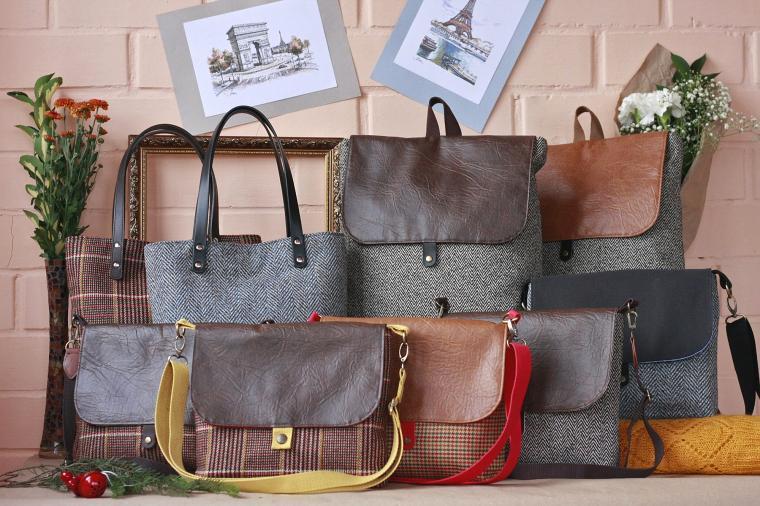 твид, новая коллекция, купить рюкзак