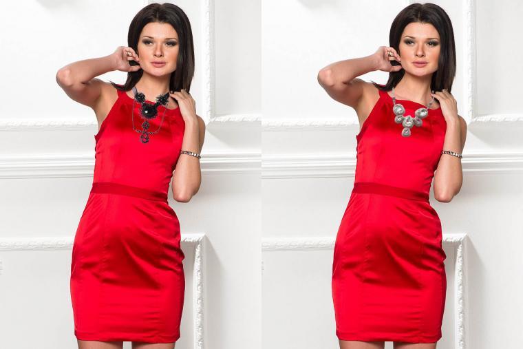 Бижутерия для красного вечернего платья
