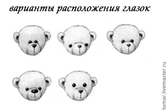 Медвежонок сшить своими руками