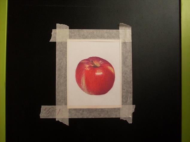 яблоко пастель