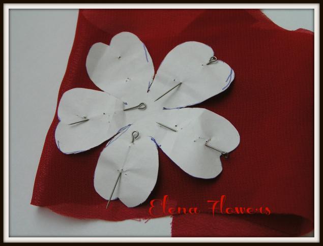Свеча цветок мастер класс
