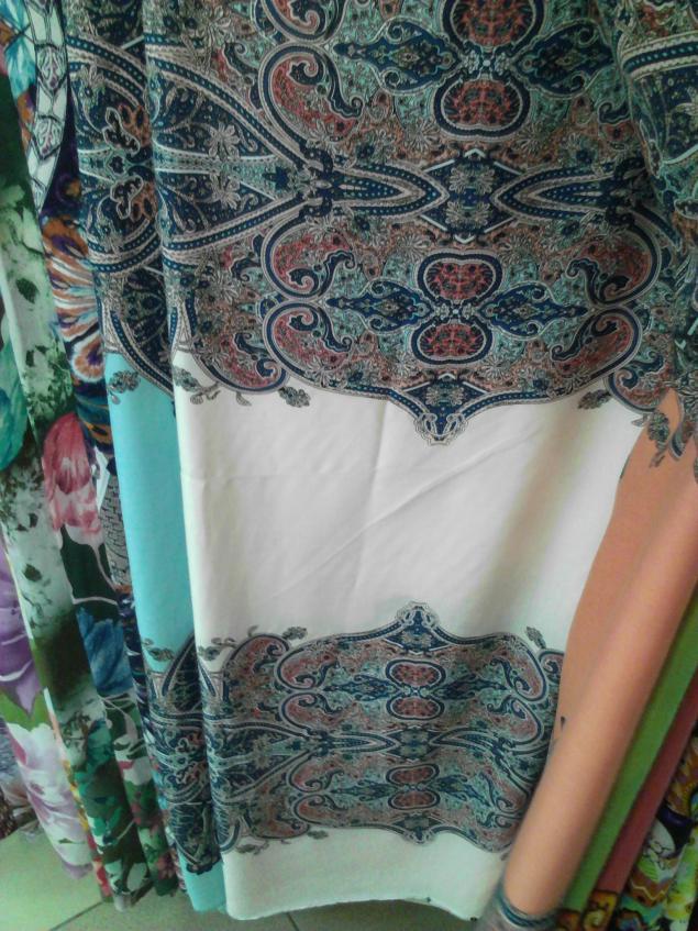 ткани на летние платья