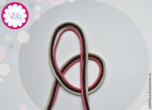 Мк браслетов из шнурков