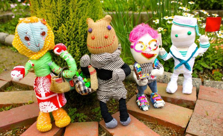 мастер-класс, японские куклы, куклы ручной работы