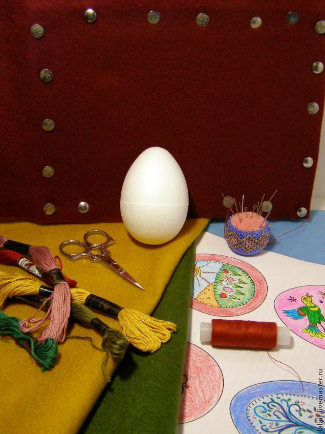 пасха, деревянное яйцо