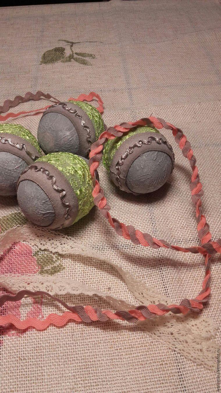 Делаем пасхальные яйца для праздничного интерьера, фото № 13
