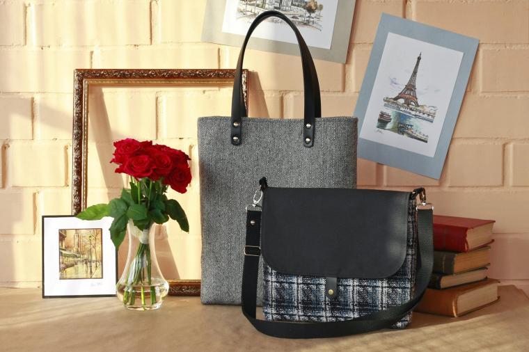 сумка ручной работы, мк, обучение шитью, стильная сумка, модная сумка