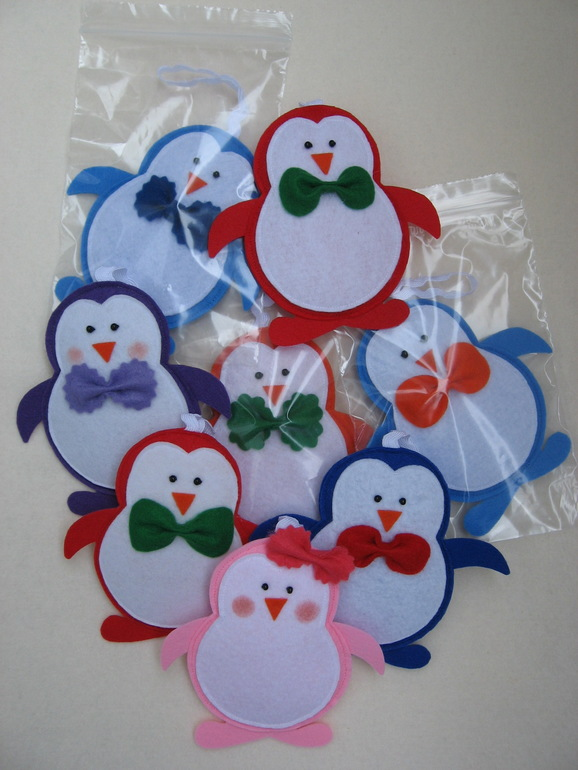 игрушки ручной работы, пингвин из фетра, выкройка снеговика