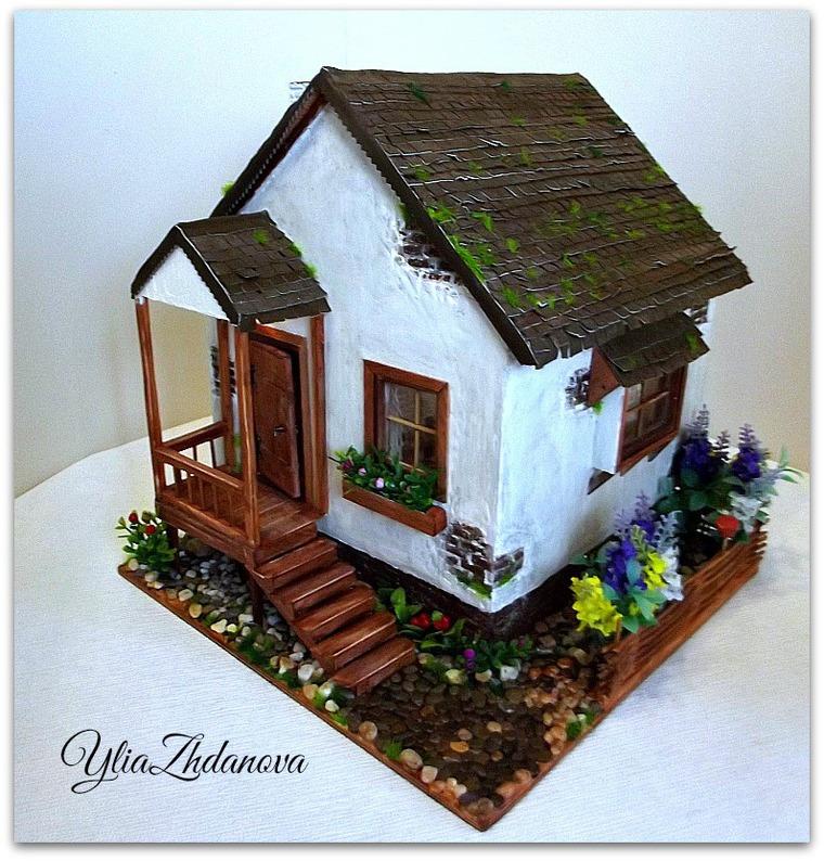Мастер класс по миниатюрным домиками