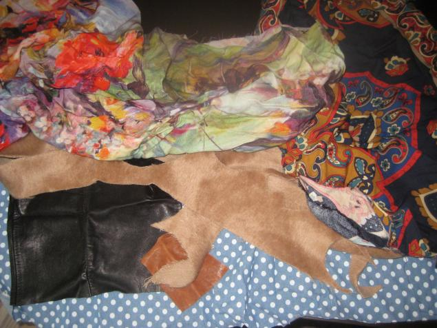 обрезки ткани