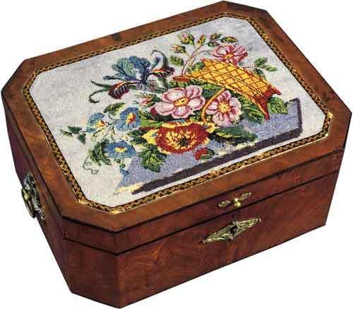 Вышивка бисером в 19 веке
