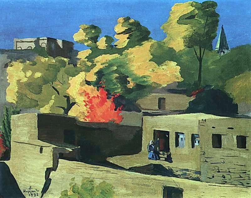1923 Ереван. К,. х., м. 26.5х34 НГ, Ереван (МС q) - Сарьян Мартирос Сергеевич