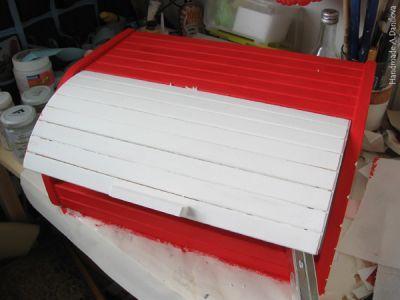 Как задекорировать хлебницу в трех техниках, фото № 6