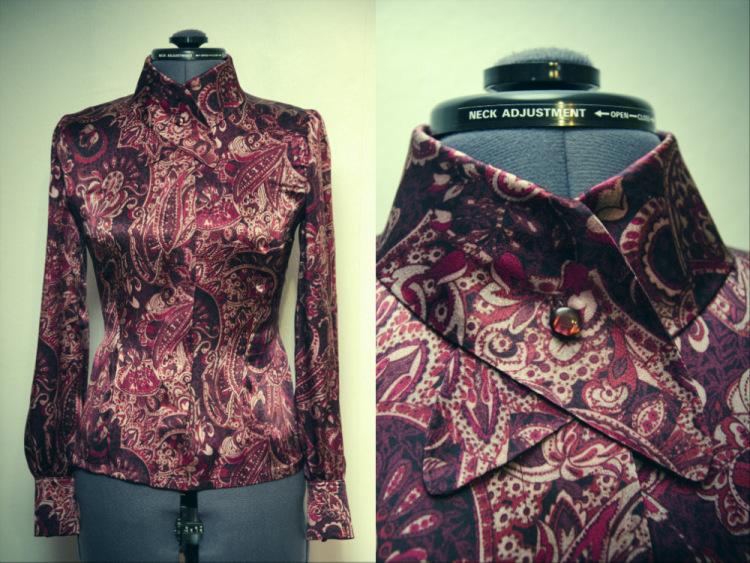 блузка, индивидуальный пошив