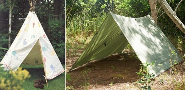 Делать палатку ребенку