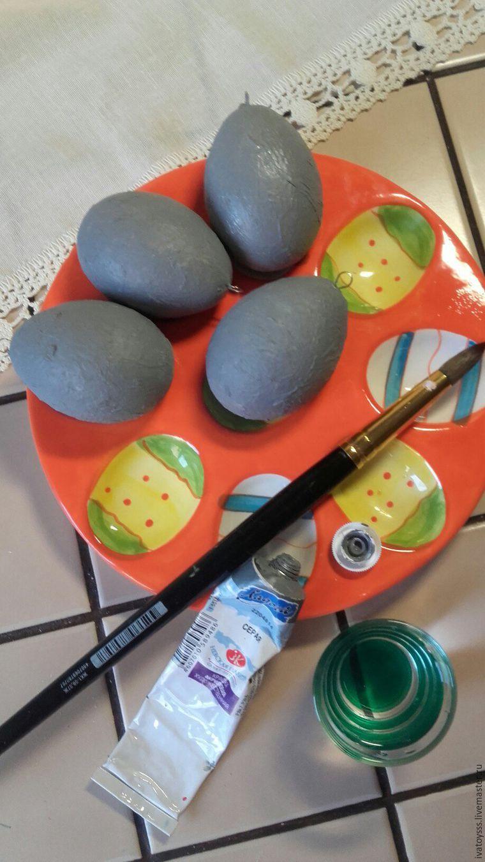 Делаем пасхальные яйца для праздничного интерьера, фото № 8