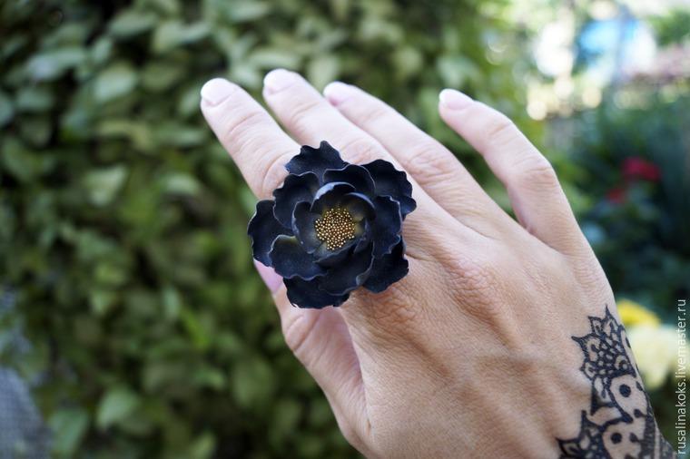 лепка цветов, видео-урок, урок по лепке, цветы из полимерной глин