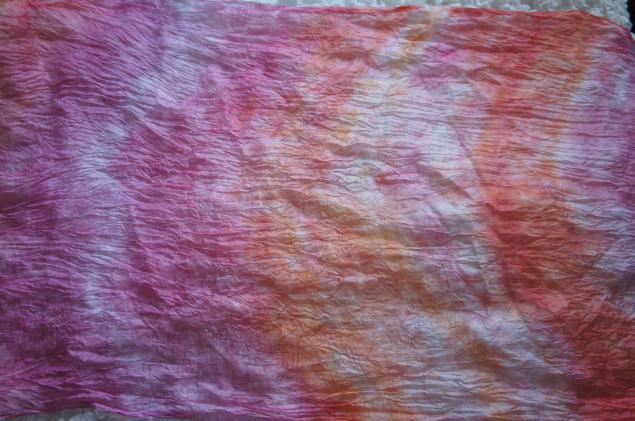 окрашивание ткани вручную